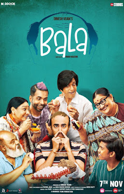 Bala 2019 Hindi 480p WEB HDRip 400Mb x264