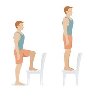 Зашагування на степ або стілець