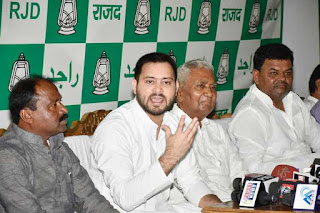 will-nitish-take-action-against-their-taintained-minister-tejawi-yadav