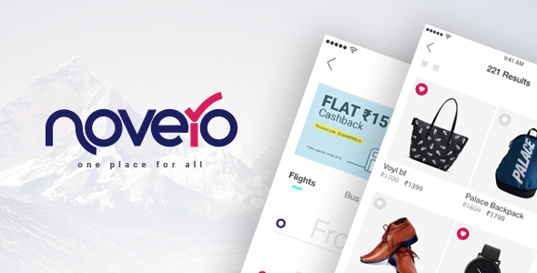 Novero- A Mobile Payments System Template Full Source Code