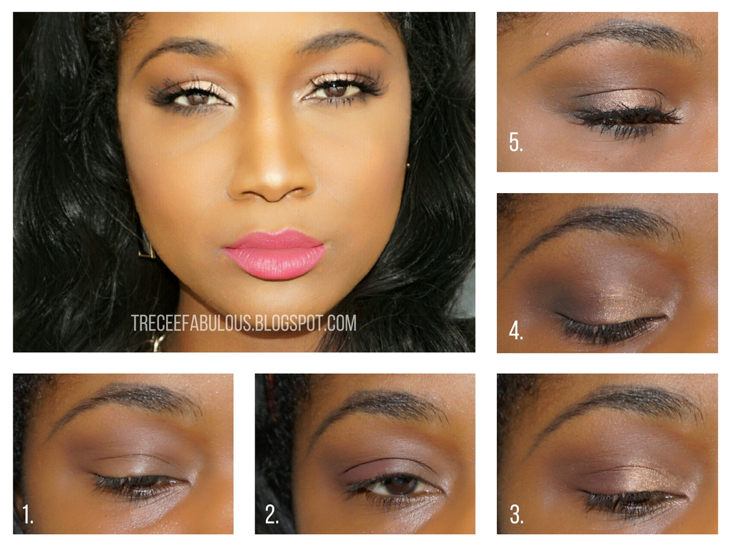 Tutorial easy fall makeup for every color lipstick feat too faced steps baditri Images