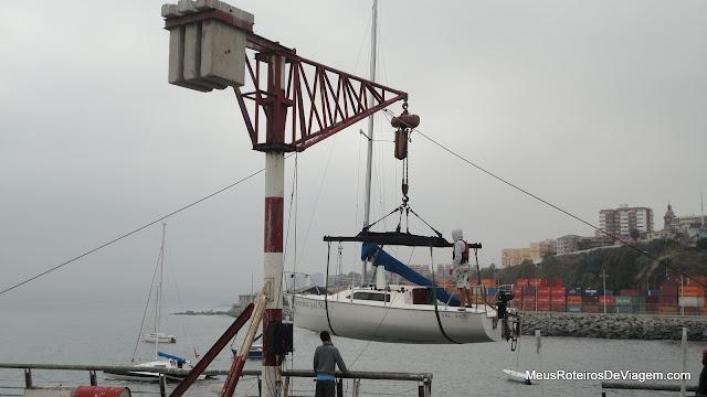 Muelle Baron - Valparaíso, Chile