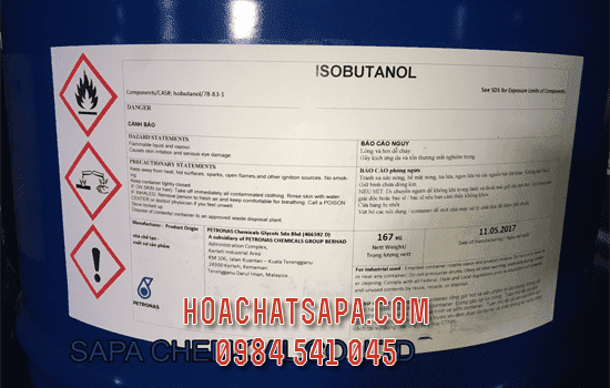 Dung moi Iso Butanol IBA solvent