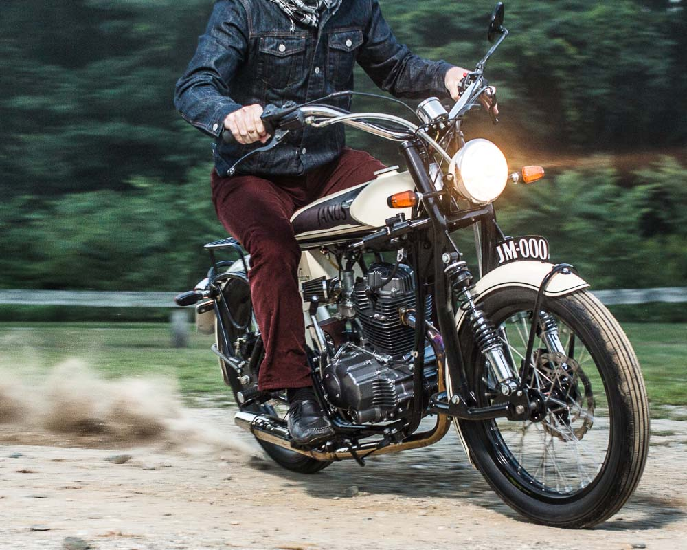 Janus Halcyon 250 Ride Impression