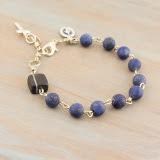 Men's Lapis Lazuli Catholic Rosary Bracelet
