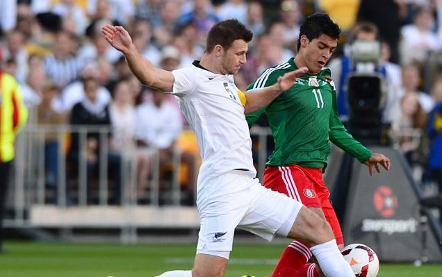 Mexico vs Nueva Zelanda en vivo