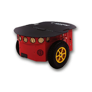 pioneer P3-DX robot with sonar