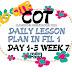 WEEK 7 COT DLP IN FILIPINO 1
