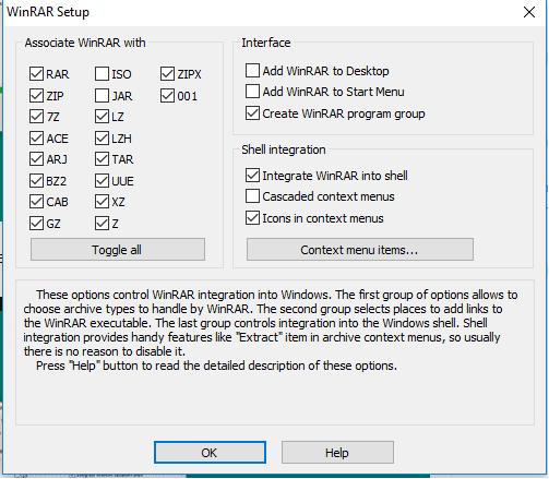 Pengaturan Format File