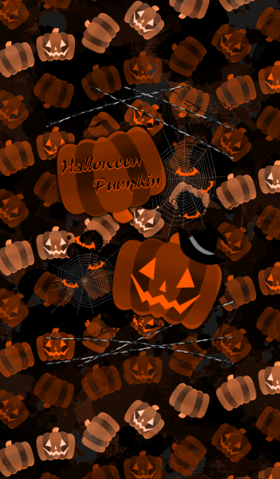 Halloween pumpkin -ORANGE-