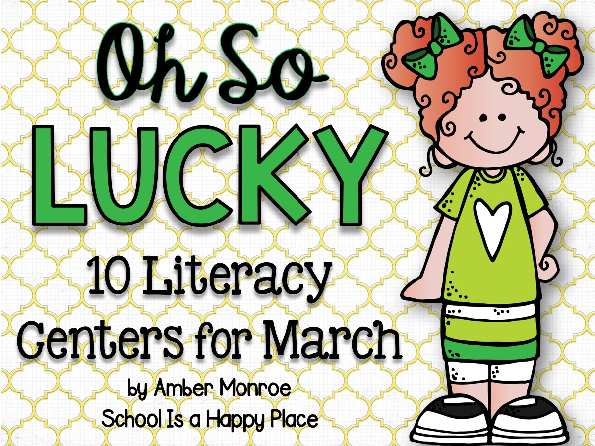 Literacy Centers for March