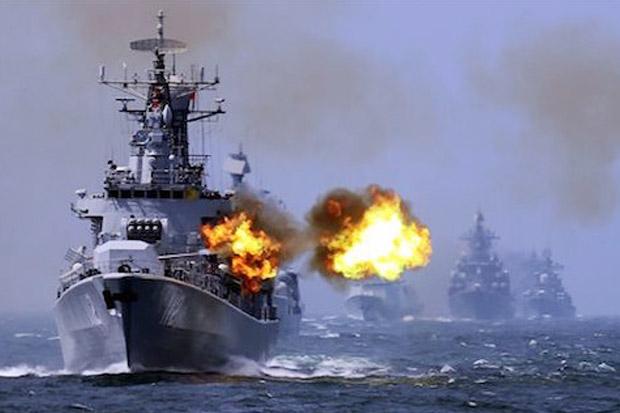 Latihan Perang di LCS, China Gelar Kekuatan Penuh