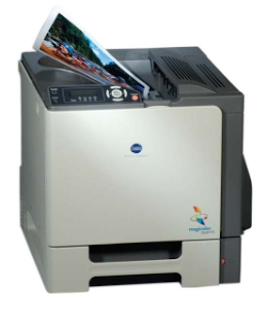 Konica Minolta MagiColor 5440 DL is a compact network printer with many advanced features such as Direct Photo Print function and large paper feed tray