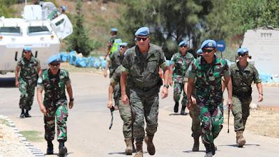 Jenderal Spanyol : Satgas Indobatt Garda Terdepan Sektor Timur Unifil