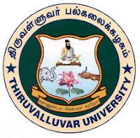 Thiruvalluvar University Result 2017