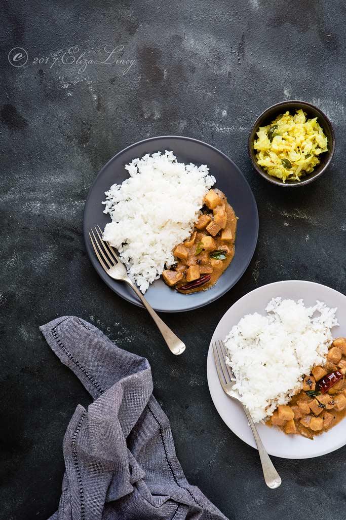 Chena Theeyal recipe