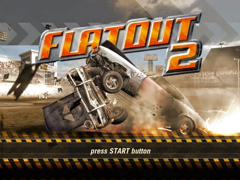 تحميل لعبة تصادم السيارات flatout