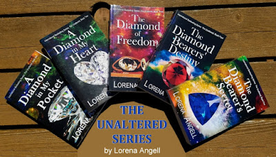 GIVEAWAY--The Unaltered series 5-book signed set