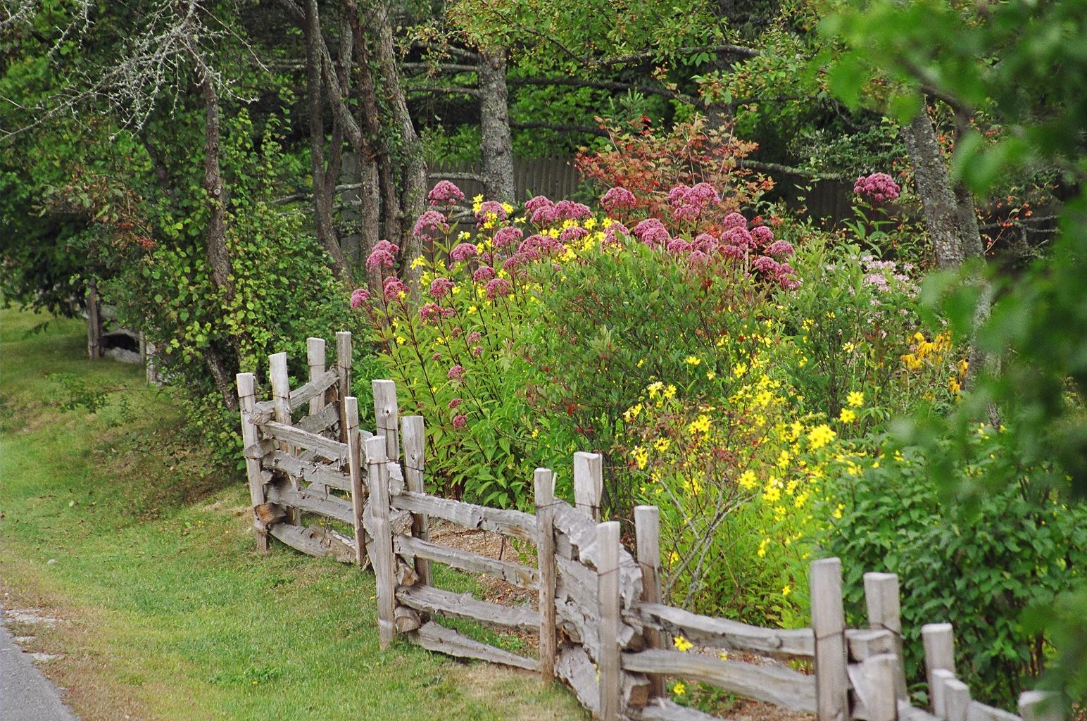 Cottage Gardens: Two Men And A Little Farm: INSPIRATION THURSDAY, FARM FENCE