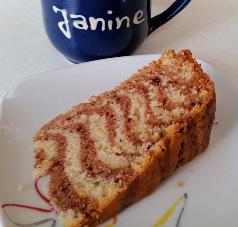 Janine S Vegane Kuche Zebrakuchen