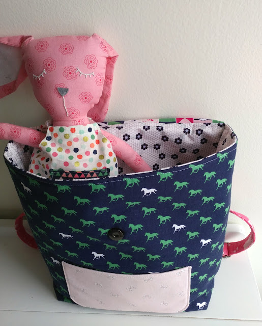 DIY Toddler Backpack Pattern Update, featured by top US sewing blog, Ameroonie Designs:
