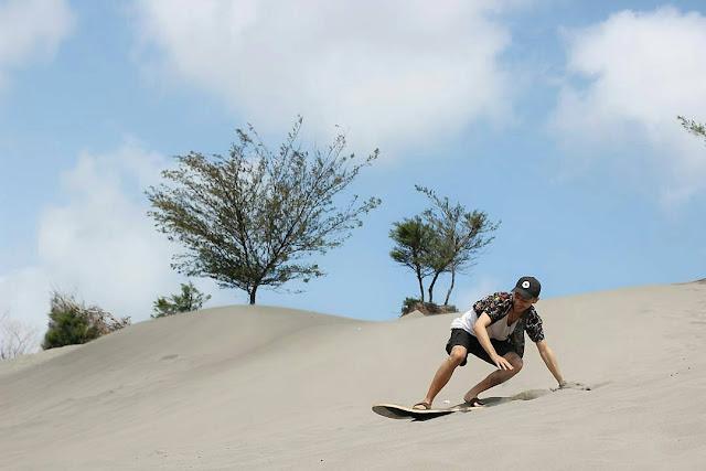 Wisata unik di jogja - Gumuk pasir