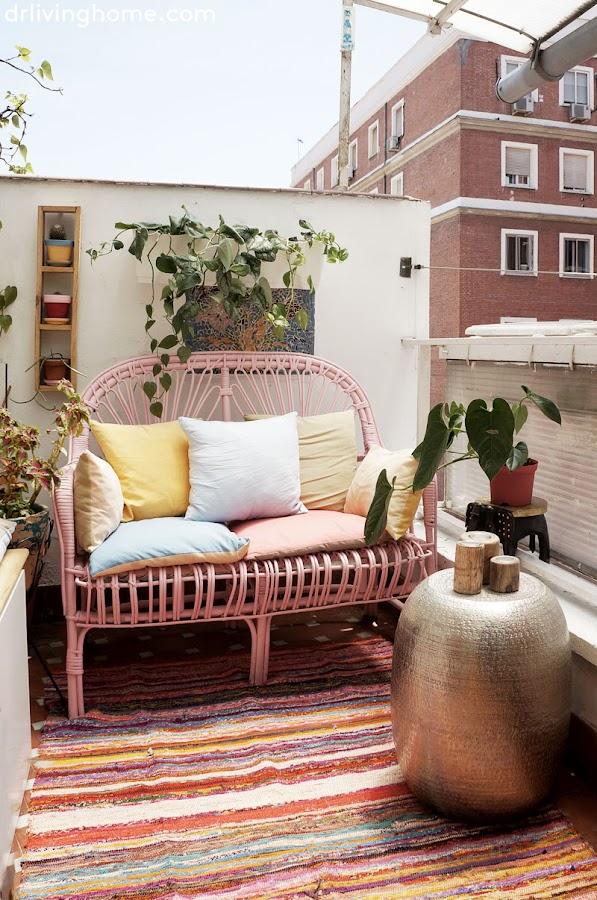 La decoración de mi terraza