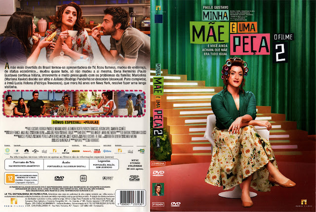 Capa DVD Minha Mãe é Uma Peça 2 O Filme