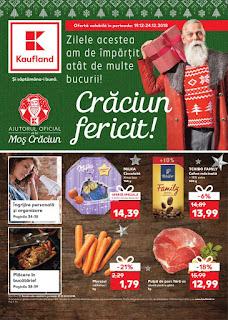 CATALOG KAUFLAND 19 -  24 decembrie 2018 reduceri la carnea de porc