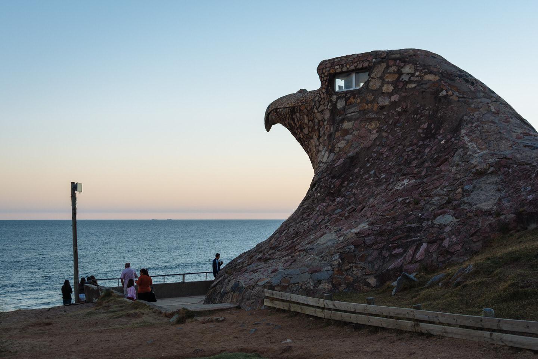 El Aguila em Atlantida no Uruguai