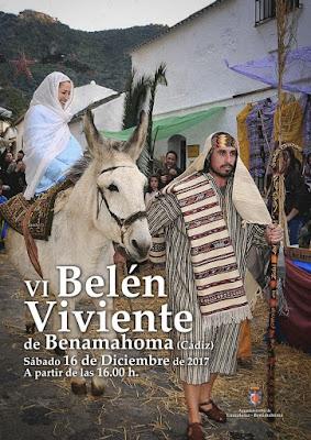 Belén Viviente 2017 - Benamahoma