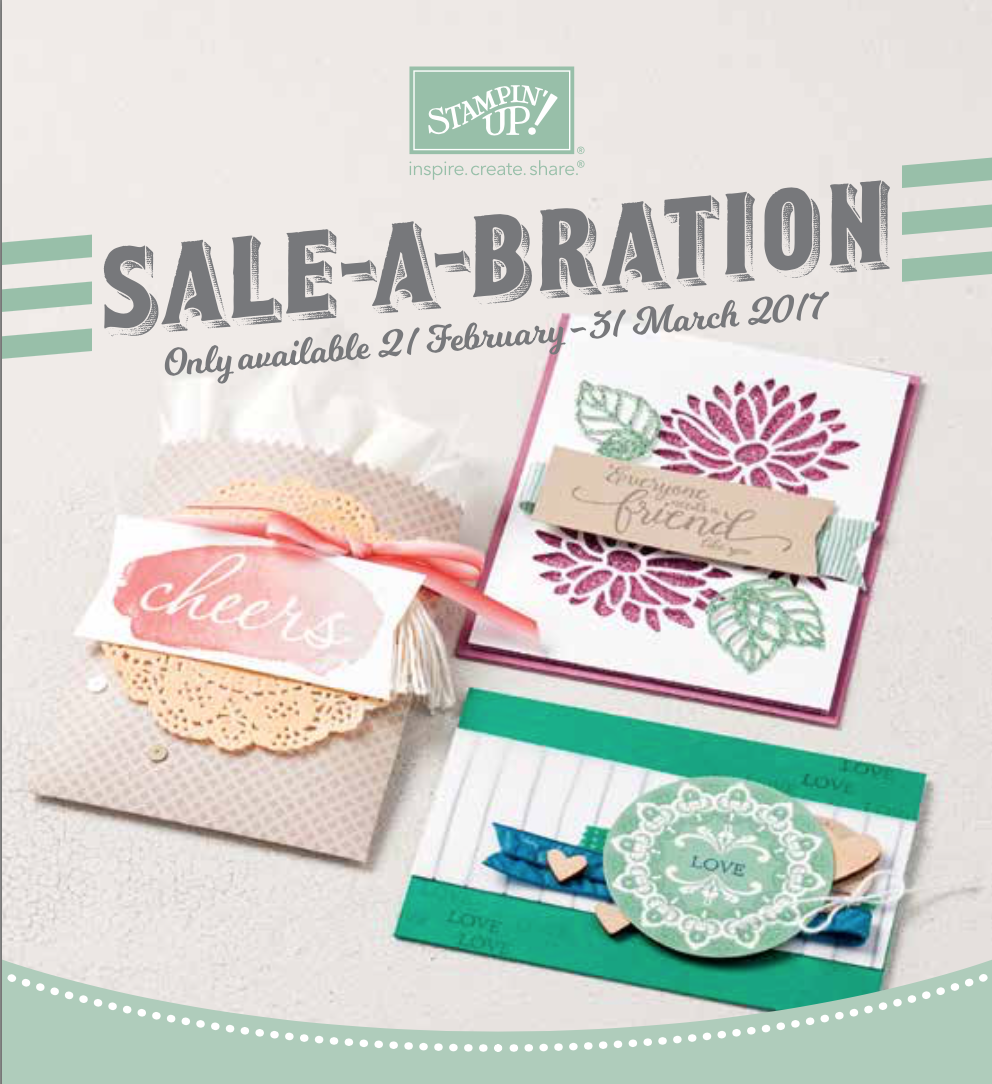Aanvulling Sale-A-Bration folder
