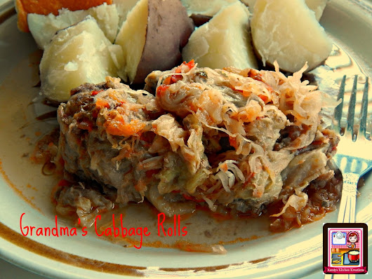 Kandy's Kitchen Kreations: Grandma's Cabbage Rolls