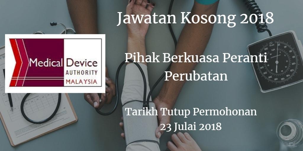 Jawatan Kosong KKM 23 Julai 2018