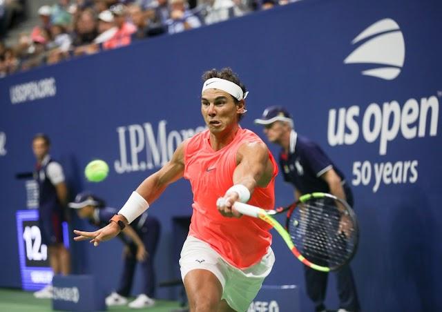 Nadal đánh bại Thiêm để giành vé vào bán kế Mỹ mở rộng