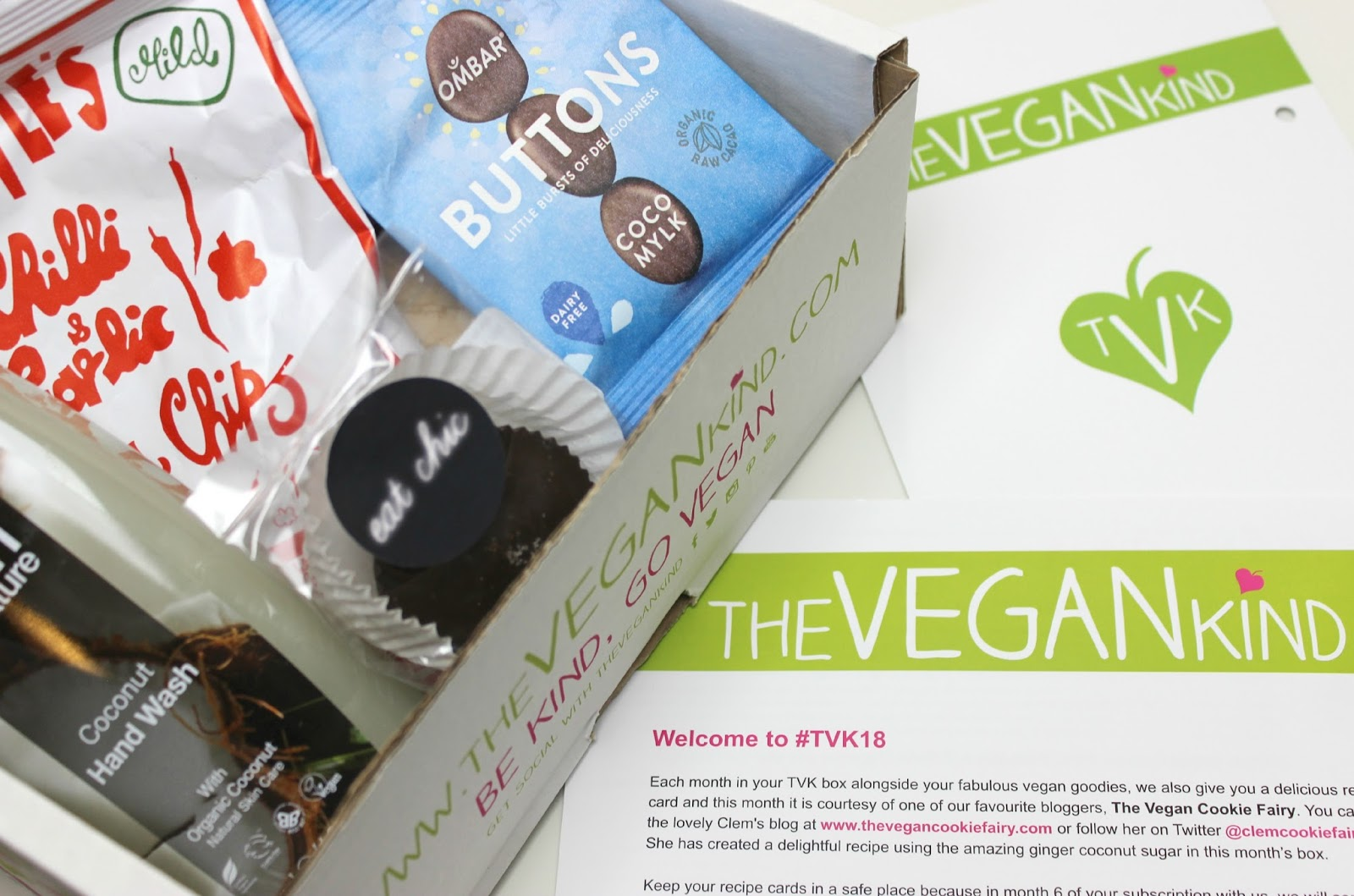 TheVeganKind April 2015 Box