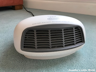 Small portable heater