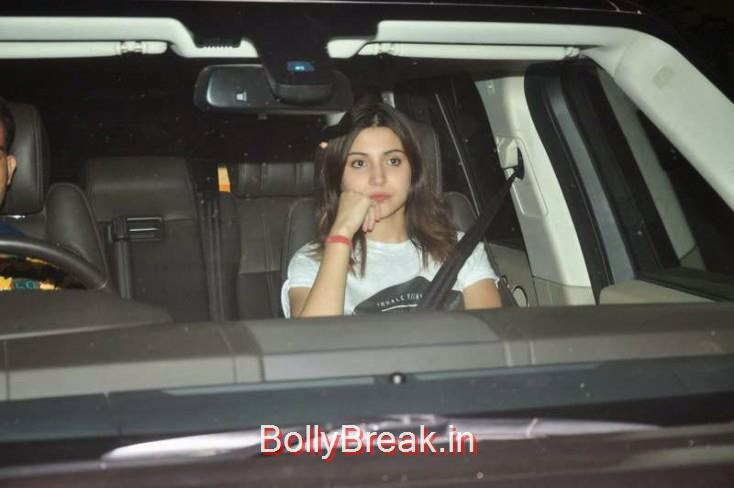 Anushka Sharma, Kiran Rao, Mini Mathur Sidharth Malhotra and Gari Khan at Ranbir Kapoor's Party