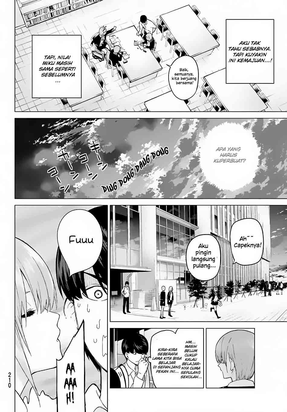 Manga Go-Toubun No Hanayome Chapter 15 Bahasa Indonesia