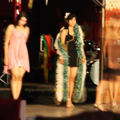 pretty fashion show girls at zero zone