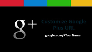 Customize Google Plus Profile URL