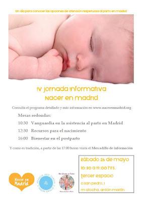 IV Jornada Nacer en Madrid, 26 de Mayo de 2012