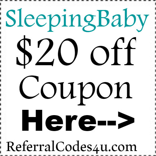 SleepingBaby Promo Code February-March, SleepingBaby Coupon April-May, SleepingBaby Discount Code June-July