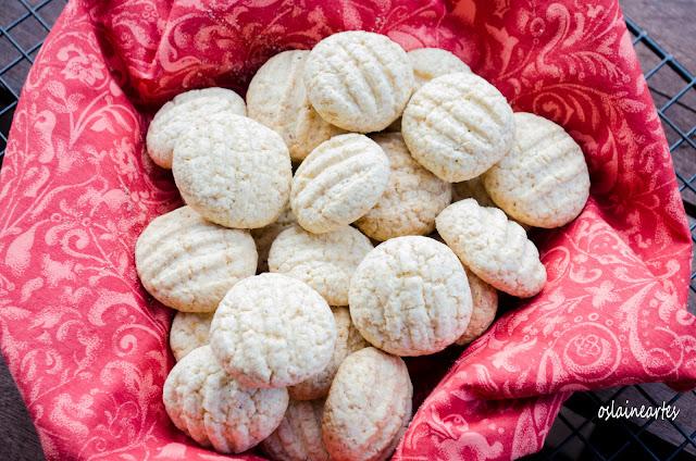 Biscoito de Polvilho ( tipo Sequilhos)