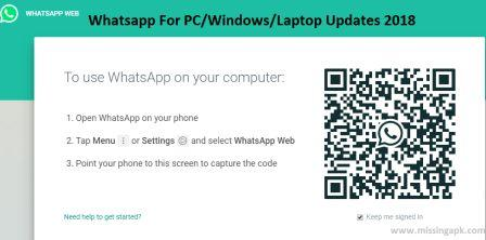 Whatsapp For Pc-www.missingapk.com