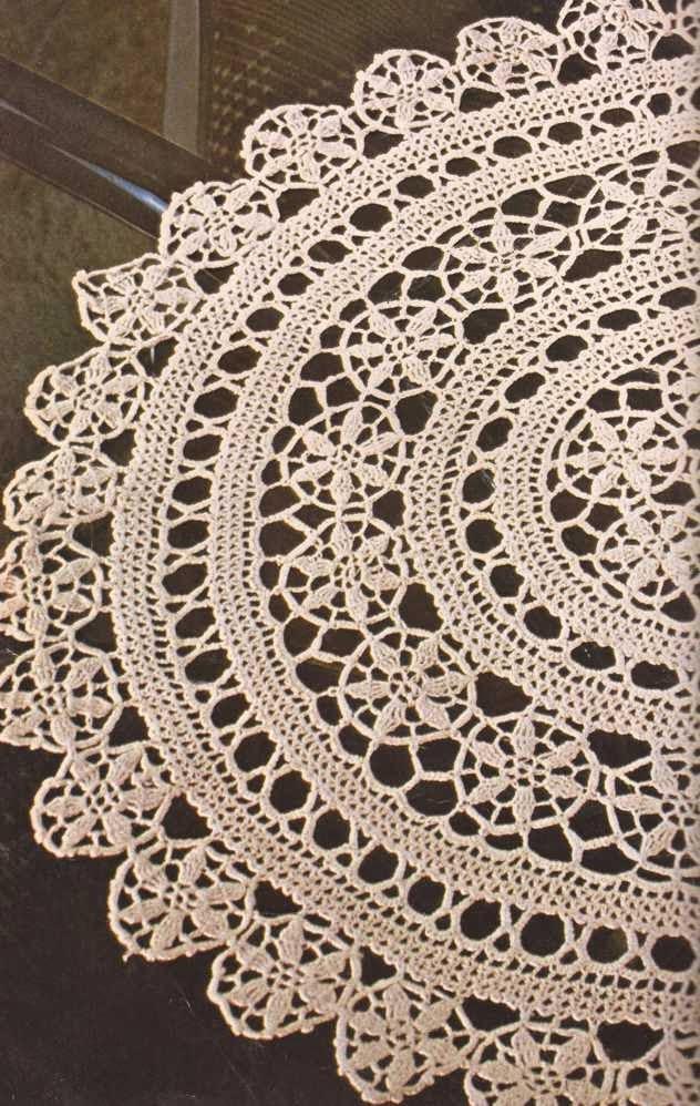 """Tapete """"Granada"""" a Crochet"""