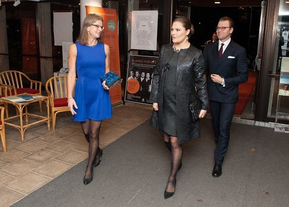Princess Victoria And Prince Daniel Attended An Aid Concert