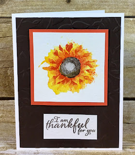 Shop Online for Stampin' Up!.  You can purchase all you need to make this awesome card from my online store!  I used Stampin' Up!'s Painted Harvest Stamp Set, Brusho, and the Heat Tool.  Video on blog!  #stamptherapist #stampinup www.stamptherapist.com