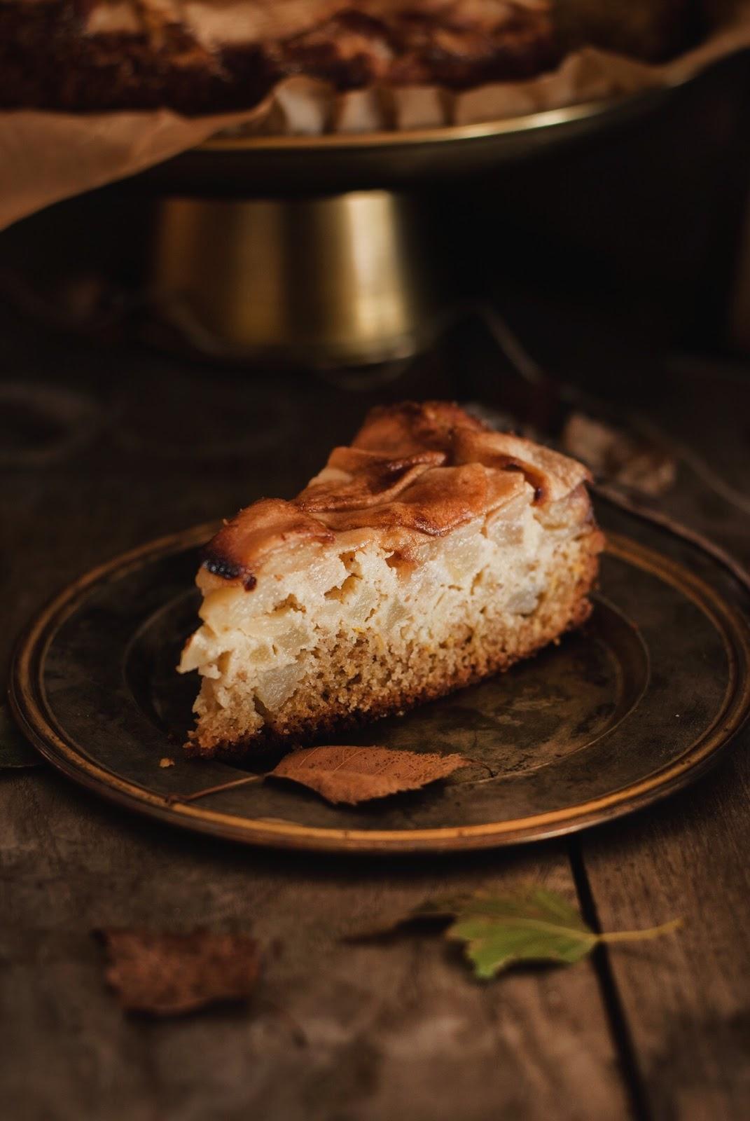 Bezglutenowe ciasto z jabłkami