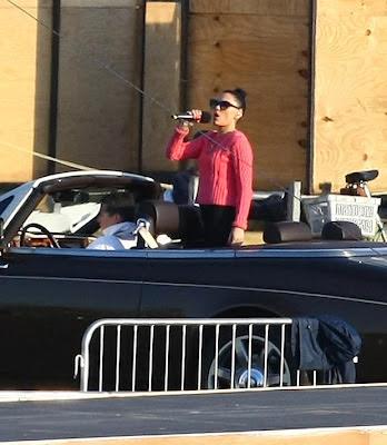 George Michael Car Crash